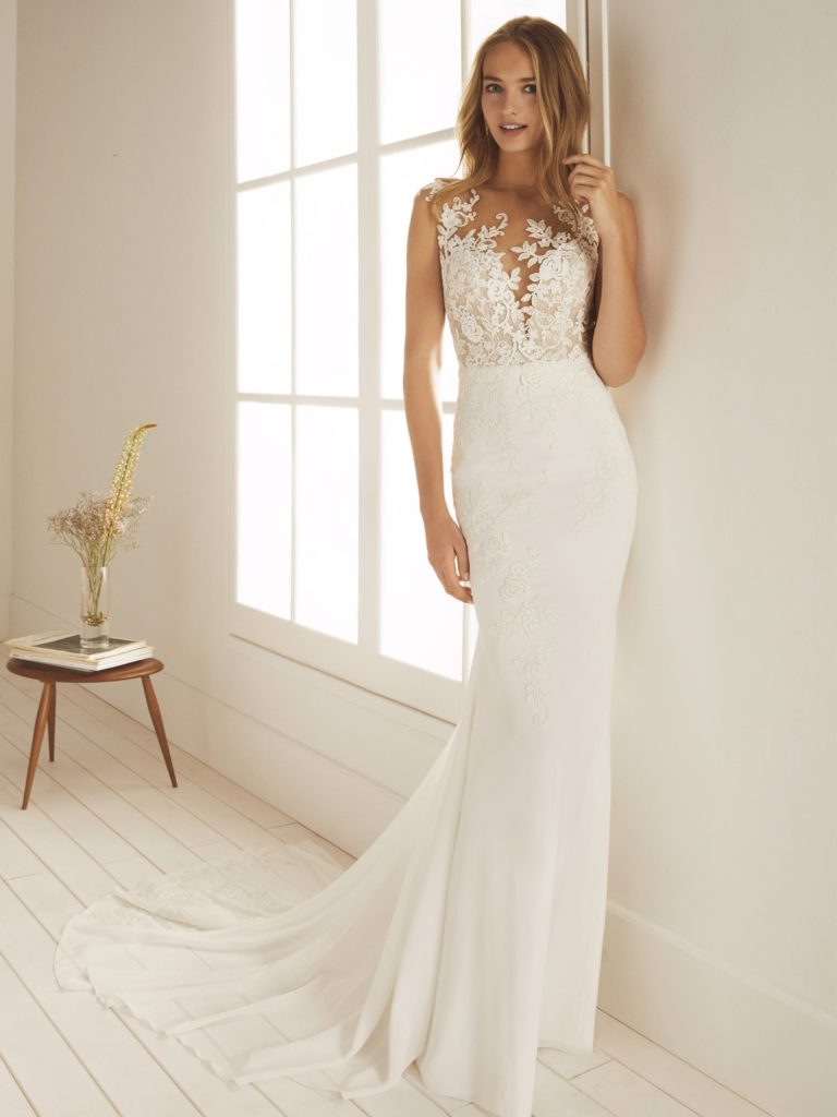 White One Pronovias Modello Sirena OCALA