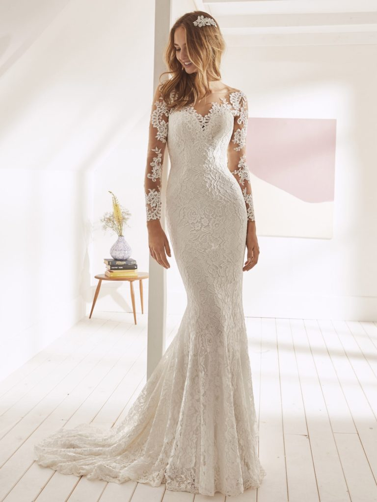 White One Pronovias Modello Sirena ORFILA