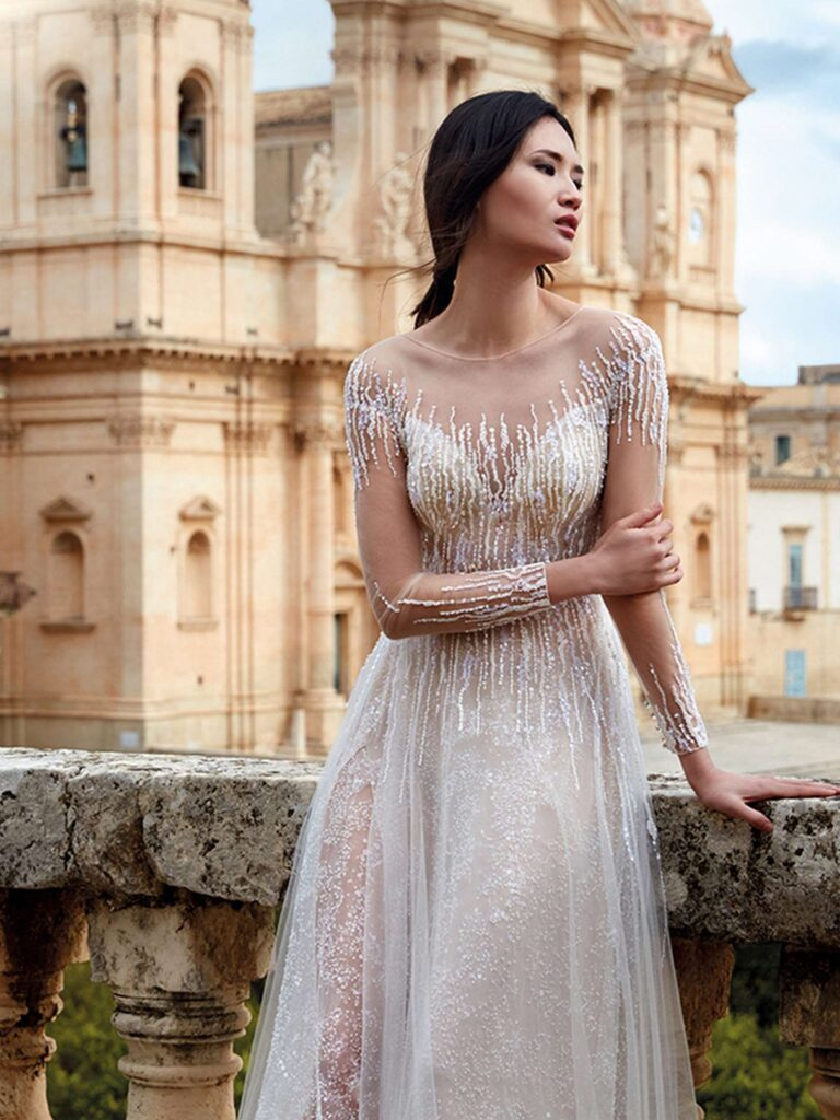 NC12119 From Italy to NICOLE COUTURE